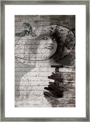 My Fair Lady Framed Print by Bellesouth Studio