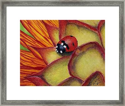 Framed Print featuring the drawing My Fair Lady by Christie Minalga