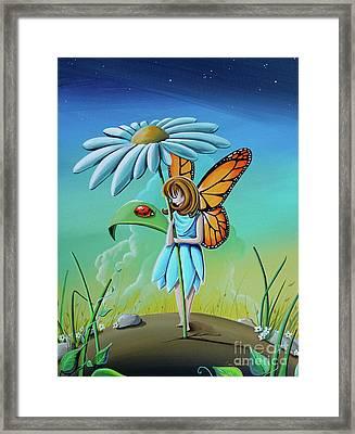 My Fair Lady #fairy Framed Print by Cindy Thornton