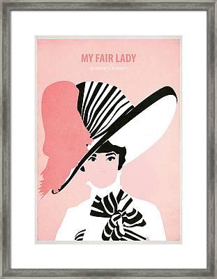 My Fair Lady Framed Print by Fraulein Fisher
