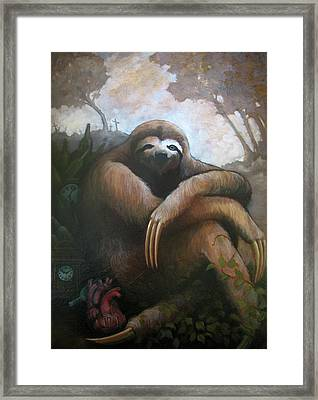 My Famine Pt. 1 Framed Print by Scott Kirschner