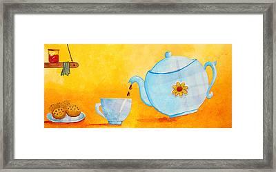 My Fancy Kitchen Framed Print by Nirdesha Munasinghe