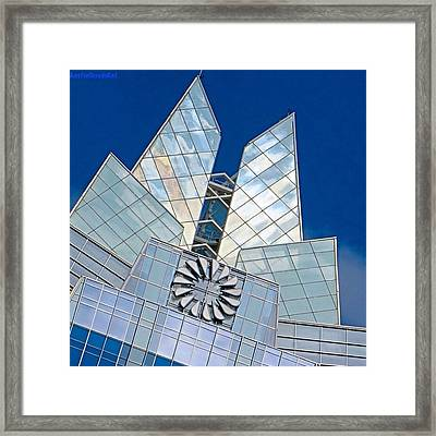 My Favorite #building In #myhometown Framed Print