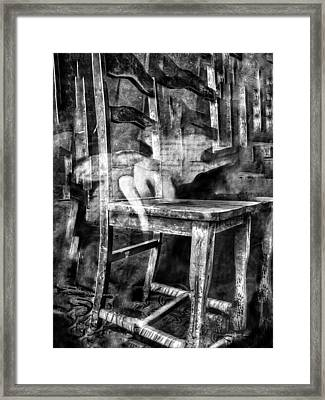 My Favorite Chair 2 Framed Print