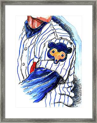 My Favorite Chicago Cub Framed Print