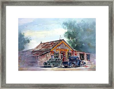 My Favorite Past Time Framed Print by Tim Ross