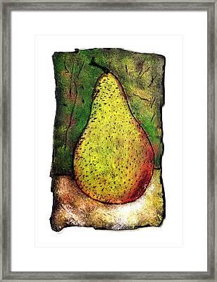 My Favorite Pear One Framed Print