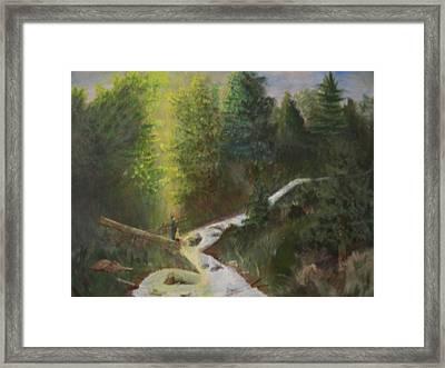 My Favorite Spot Framed Print by Jack Hampton
