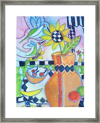 My Favorite Things Framed Print by Sandy Collier