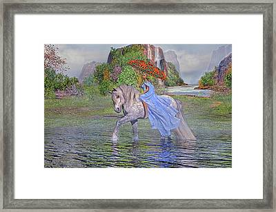 My Favorite Time Of The Day Framed Print by Betsy Knapp