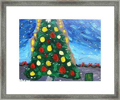 My Favorite Tree Framed Print by Mary Carol Williams