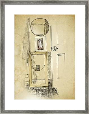 My Favorite Whistler Framed Print