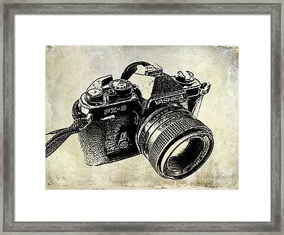 My First Camera Framed Print by Jon Neidert