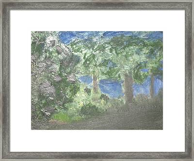 My First Love Framed Print by Paula Andrea Pyle