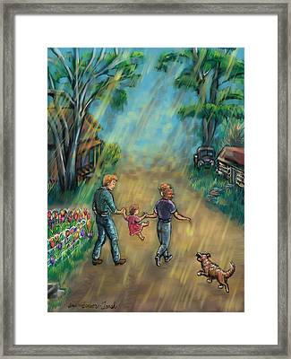 My First Memory Framed Print by Dawn Senior-Trask