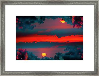 My First Sunset- Framed Print