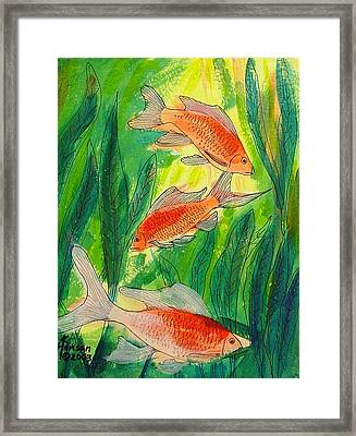 My Fish 1 Framed Print by Kenny Henson