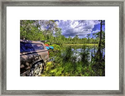 My Florida Getaway  Framed Print by JC Findley