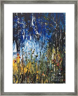 My Forest Framed Print by Jenny Blandford