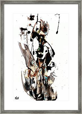 My Form Of Jazz Series 10062.102909 Framed Print by Kris Haas