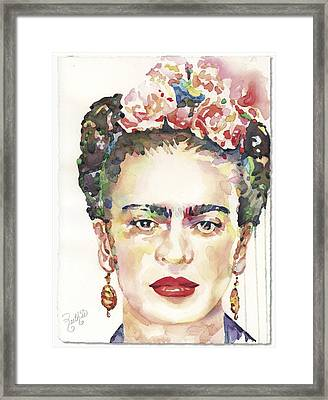 My Frida Framed Print
