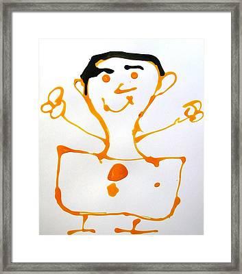My Friend Framed Print by Nanak Chadha
