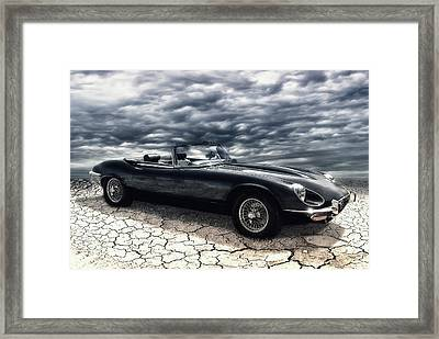 my friend the Jag Framed Print