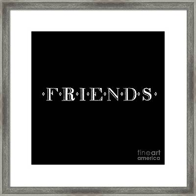 My Friends Framed Print by Victor Arriaga