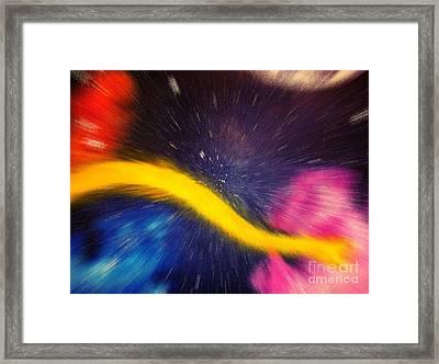 My Galaxy Too Framed Print