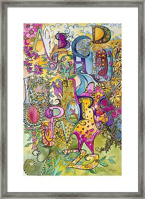 My Garden Framed Print by Claudia Cole Meek