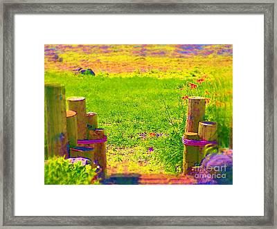 My Garden Dream Framed Print by Deborah Selib-Haig DMacq