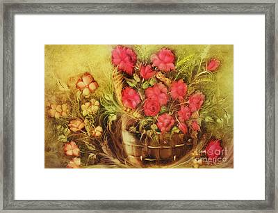 My Garden Of Roses Framed Print by Fatima Stamato