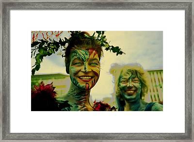 My German Fairies Framed Print