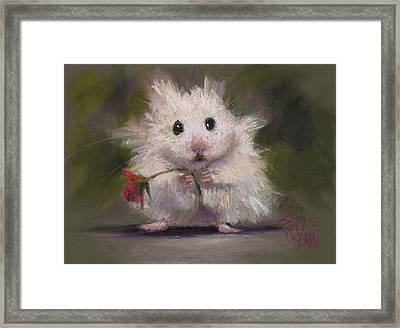 My Gift To You Framed Print by Billie Colson