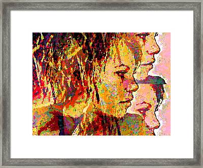 My Girl Framed Print by Loko Suederdiek