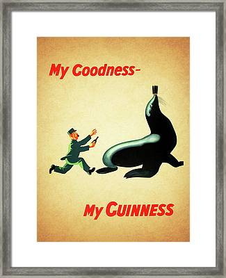 My Goodness My Guinness 1 Framed Print by Mark Rogan