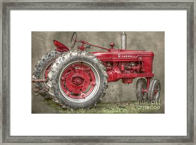 My Grandfathers Tractor Framed Print by Randy Steele