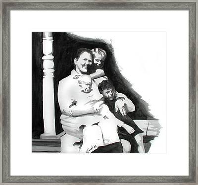 My Grandma Framed Print by Ferrel Cordle
