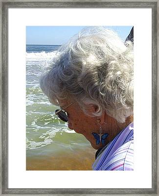 My Grandmother Framed Print by Scarlett Royal