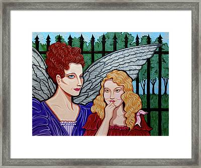 My Guardian Angel Framed Print