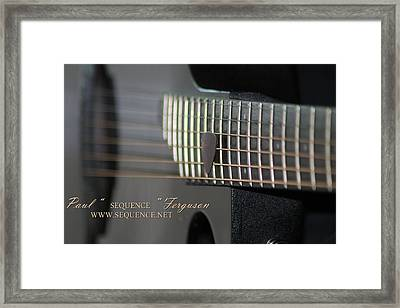 My Guitar  5 2010 Framed Print