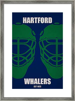 My Hartford Whalers Framed Print