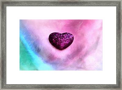 My Heart Belongs To You Framed Print by Krissy Katsimbras