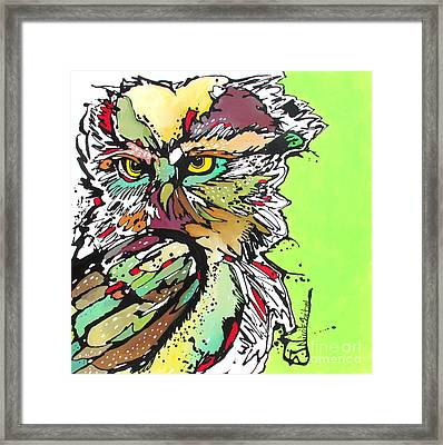 My Heart Cried Out For You Framed Print by Nicole Gaitan