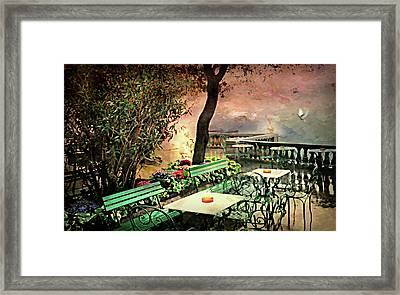 My Heart Lives In Sorrento Framed Print