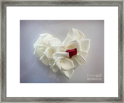 My Heart Framed Print