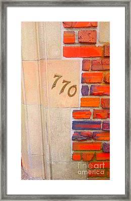 My Heart Framed Print by Sholom Zimmerman