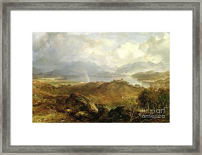 My Heart's In The Highlands, 1860 Framed Print