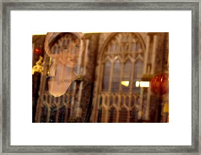 My Heaven Being Out Framed Print by Jez C Self