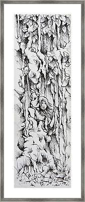 My Hiding Place Framed Print by Rachel Christine Nowicki